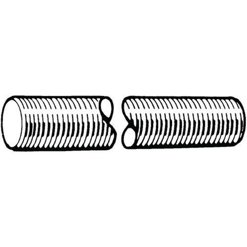 Závitová tyč, délka 1 m DIN 976-1A Ocel Pozinkované 4.8 M18X1,50