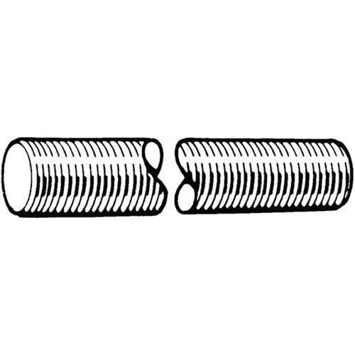 Závitová tyč, délka 1 m, ISO-metrický závit DIN 976-1A Ocel Žáro