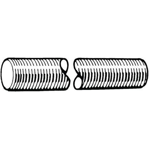 Závitová tyč, délka 1 m, levý závit DIN 976-1A Ocel Pozinkované