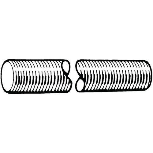 Závitová tyč DIN 976-1A Ocel Bez PU 4.8 3 metry