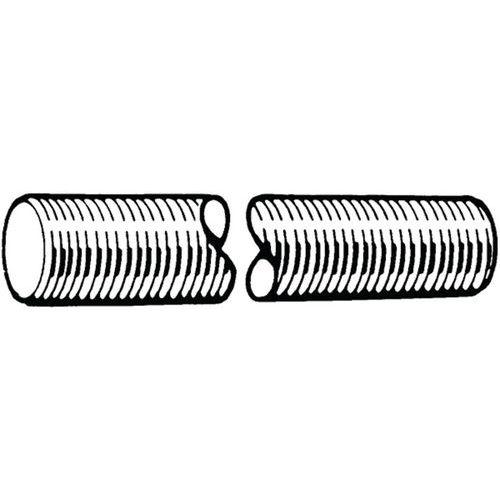 Závitová tyč DIN 976-1A Ocel Pravý Bez PU 8.8 2 metry M16