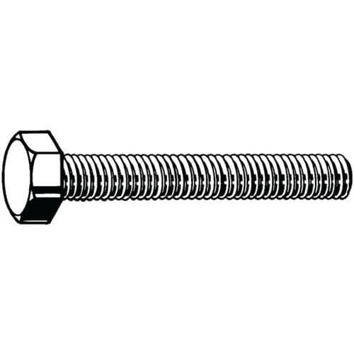 Šroub se šestihrannou hlavou ISO 4017 Nerezocel A4 Pravý 80 M8X3