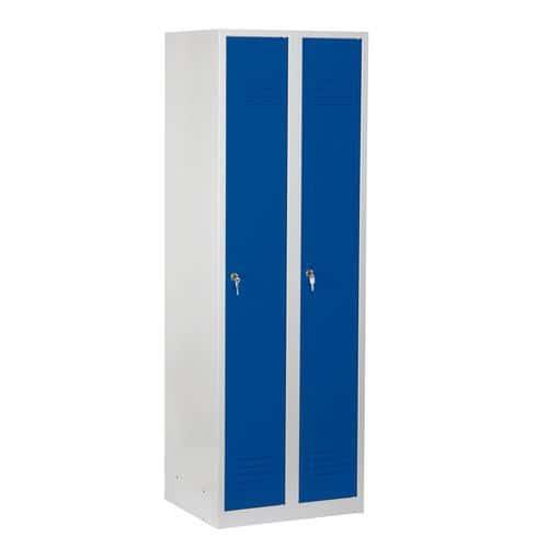 Svařované šatní skříně DURO VARIO, 2 oddíly