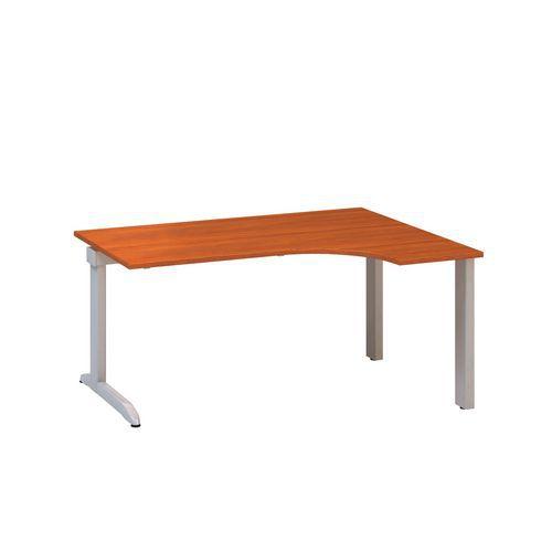 Ergo kancelářský stůl Alfa 300, 180 x 120 x 74,2 cm, pravé provedení, dezén třešeň