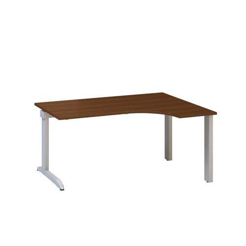 Ergo kancelářský stůl Alfa 300, 180 x 120 x 74,2 cm, pravé provedení, dezén ořech
