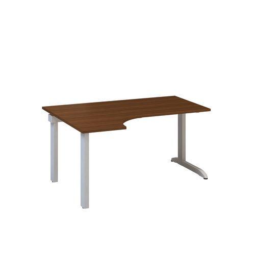 Ergo kancelářský stůl Alfa 300, 180 x 120 x 74,2 cm, levé provedení, dezén ořech