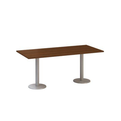 Alfa Office Konferenční stůl Alfa 400, 180 x 80 x 74,2 cm, dezén ořech - Prodloužená záruka na 10 let