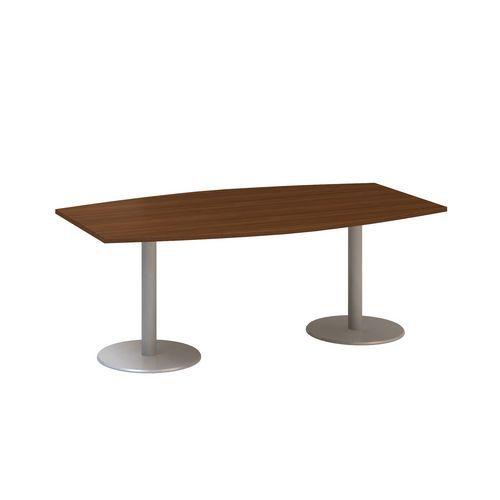 Konferenční stůl Alfa 400, 200 x 110 x 74,2 cm, dezén ořech