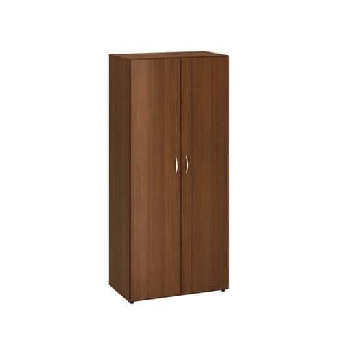 Vysoká šatní skříň Alfa 500, 178 x 80 x 47 cm, dezén ořech