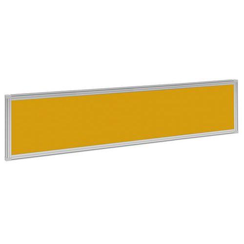 Stolový paraván Alfa 600, 180 x 37 cm, oranžový