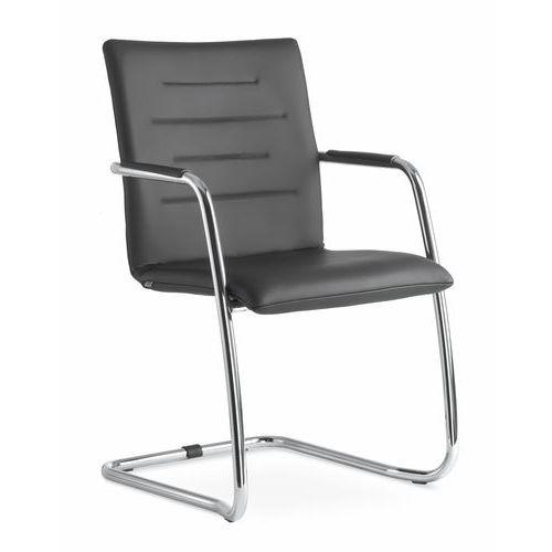 Konferenční židle Oslo, černá