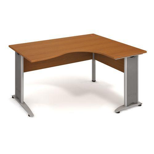 Rohový kancelářský stůl Cross, 160 x 120 x 75,5 cm, pravé proved