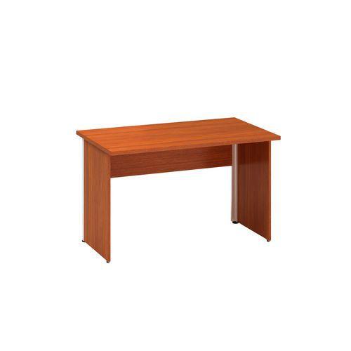 Alfa Office Kancelářský stůl Alfa 100, 120 x 70 x 73,5 cm, rovné provedení, dezén třešeň - Prodloužená záruka na 10 let