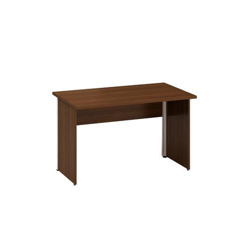 Alfa Office Kancelářský stůl Alfa 100, 120 x 70 x 73,5 cm, rovné provedení, dezén ořech - Prodloužená záruka na 10 let