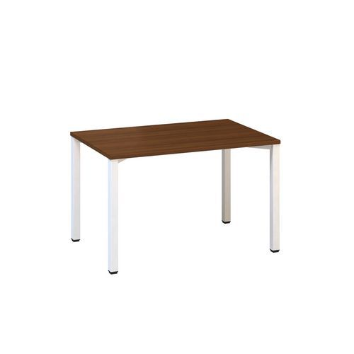Konferenční stůl Alfa 420 s bílým podnožím, 120 x 80 x 74,2 cm,