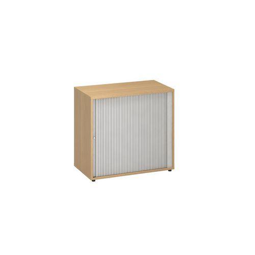 Přístavbová nízká široká skříň Alfa 500, 74,2 x 80 x 45 cm, s ro