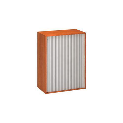 Střední široká skříň Alfa 500, 106,3 x 80 x 45 cm, se žaluziemi,