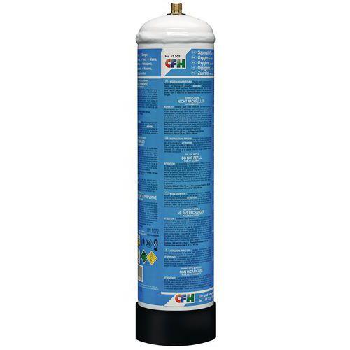 Kyslík pro svářecí soupravu, 130 g/930 ml