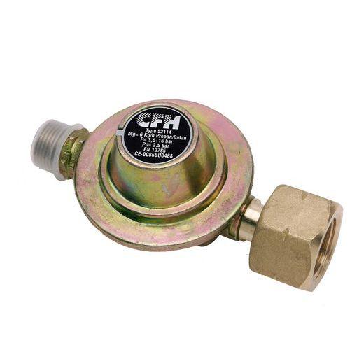 Regulátor tlaku plynu 3/8'', 2,5 bar, levý závit