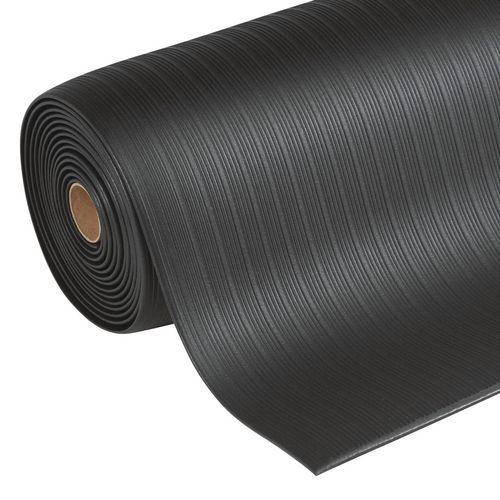 Protiúnavová průmyslová rohož Manutan s rýhovaným povrchem, 1 83