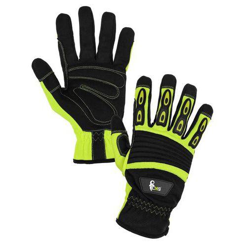 c5ef416dc5b Kožené rukavice CXS Yema ze syntetické kůže