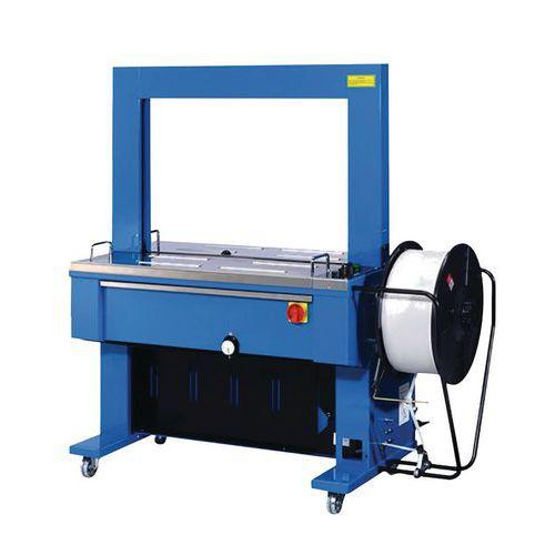 Automatický páskovací stůl plastových pásek Manutan TP6000, 220