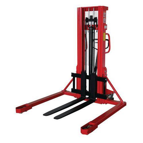 Ruční vysokozdvižný vozík Red, do 1 000 kg, výška zdvihu 1 600 m