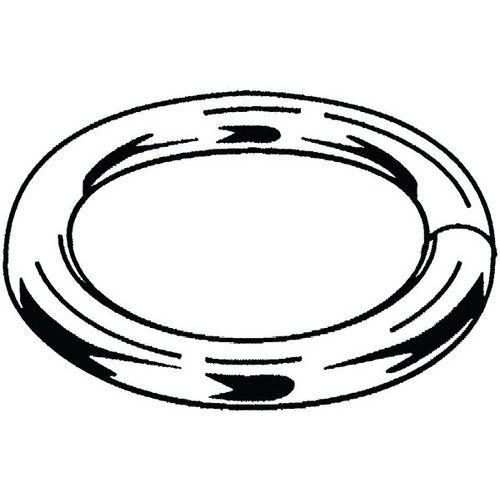 Kroužek pro bezpečnostní háky kroucené navařované Ocel Pozinkované