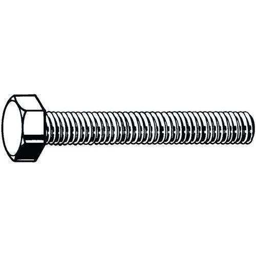 Šroub se šestihrannou hlavou MF ISO 8676 Ocel Pravý Pozinkované