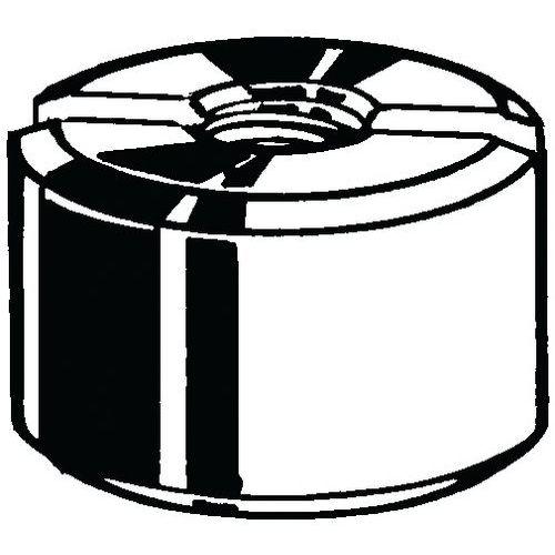 Kulatá matice s drážkou DIN 546 Automatová ocel Pravý Pozinkovan