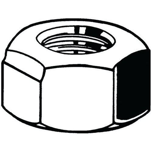Samosvorná šestihranná matice celokovová DIN 980V Ocel Pravý Poz