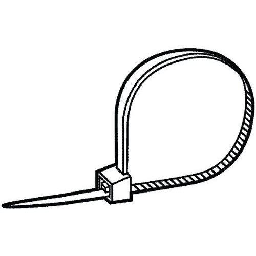 MAXXFAST Odjistitelná kabelová spona Plast Polyamid (nylon) 6.6
