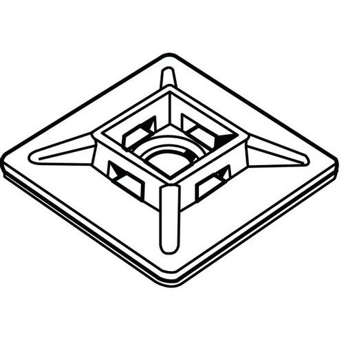 MAXXFAST Kabelová svorka Plast Polyamid (nylon) Type-1-Černá28X2