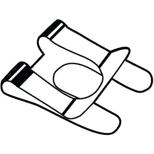 SL Svorka pro šrouby a hřídele Pružinová ocel Pozinkované 12MM