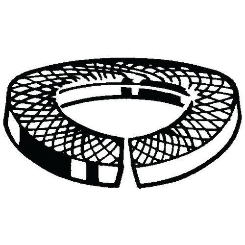 Pojistná vroubkovaná podložka DIN 128 A Pružinová ocel DIN267-26