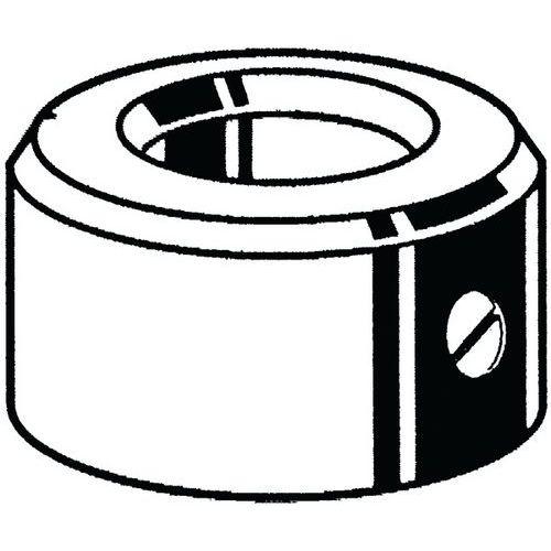 Stavecí kroužek se stavecím šroubem s drážkou DIN 705A/EN 27434