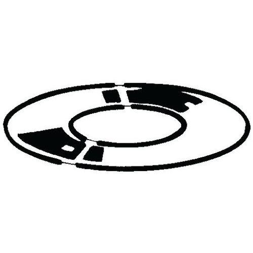Vymezovací podložka, tloušťka h=0,25 mm DIN 988 Ocel 2 K 50 acc