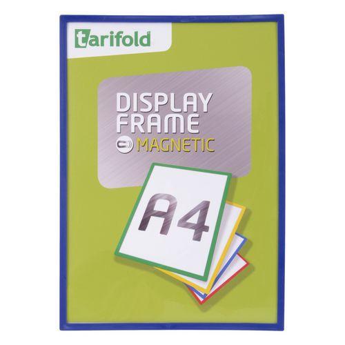 Informační rámeček Tarifold A4, magnetický, modrý