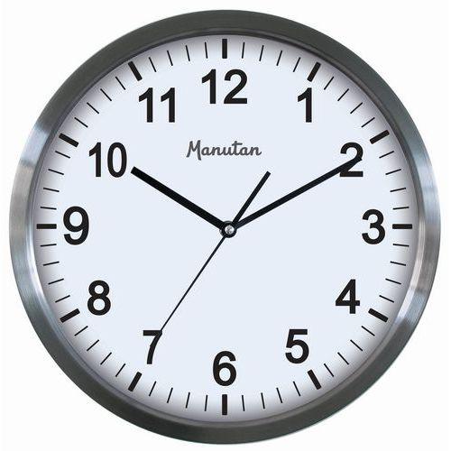 Analogové hodiny Manutan Rebel, 34 cm