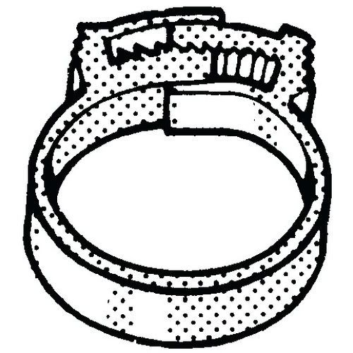 Hadicová svorka Plast Polyamid (nylon) 6.6 18,2-20,5MM