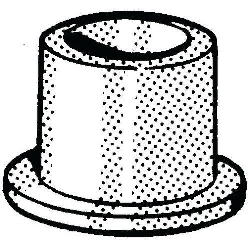 Izolační pouzdro Plast Polyamid (nylon) 6.6 M10