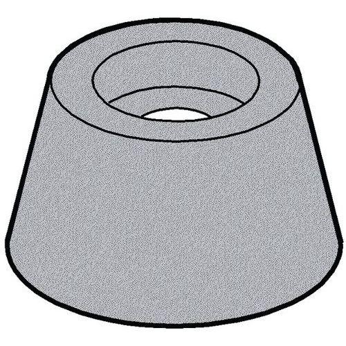 Ochranná zarážka Plast Polyvinylchlorid 15MM