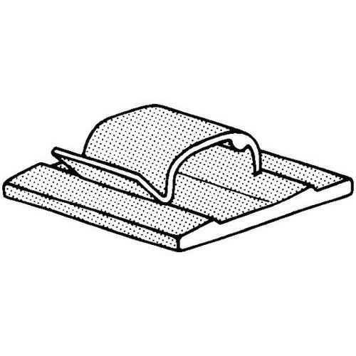 Kabelová spona samolepicí Plast Polyamid (nylon) PA 6.6
