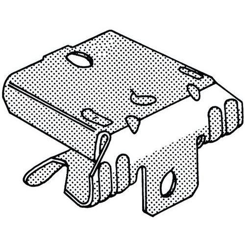 Univerzální nosníková svorka Pružinová ocel Deltatone