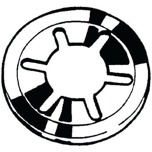 Pojistná podložka Pružinová ocel