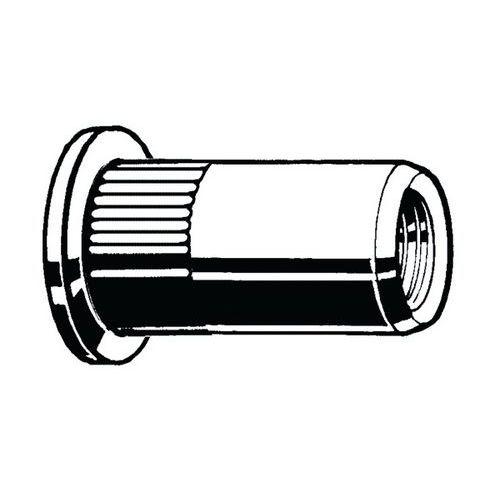 Nýtovací matice poz. ocel otevřený typ Hliník 10 OCH 60