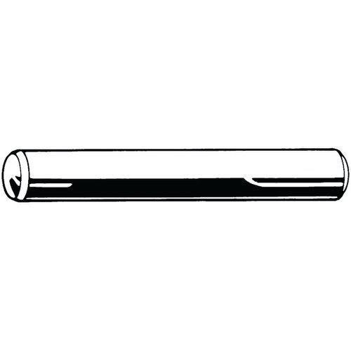 Válcový kolík kalený, tolerance h6 DIN 6325 Ocel 60 ± 2HRc Bez P