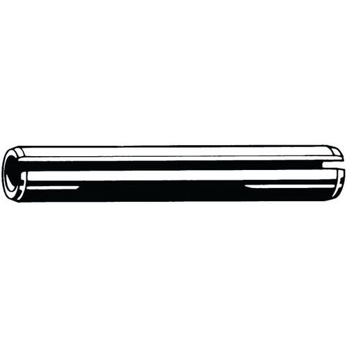 Pružný kolík rovný se štěrbinou, lehké zatížení ISO 13337 Pružin