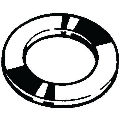 Těsnicí kroužek žíhaný, h=2 mm DIN 7603 A Měď h=2,0mm 20X24MM (?