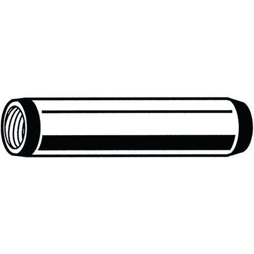 Válcový kolík kalený s vnitřním závitem DIN 7979 D Ocel 60 ± 2HR